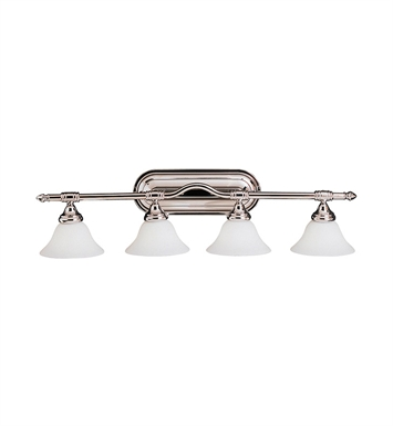 Kichler 6484CH Broadview Collection Bath 4 Light in Chrome