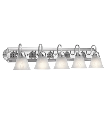 Kichler 5339CH Bath 5 Light in Chrome