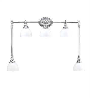 Kichler 5371CH Pocelona Collection Bath Swag 5 Light in Chrome