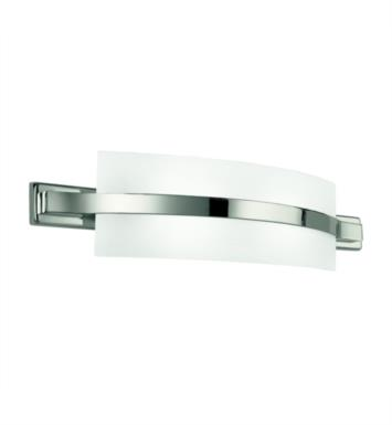 "Kichler 45087PN Freeport 2 Light 22"" Incandescent Linear Bath Light in Polished Nickel"
