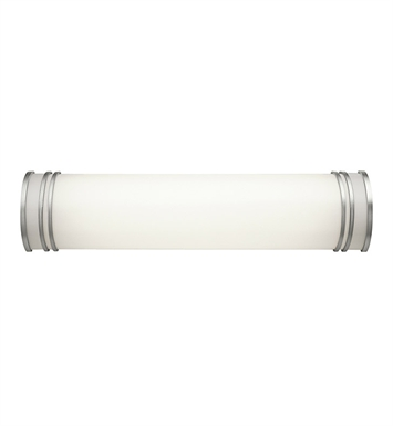 Kichler 10330WH Linear Bath 25 inch Fluorescent in White