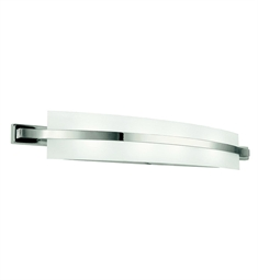 Kichler 45088PN Freeport Collection Linear Bath 36 inch in Polished Nickel