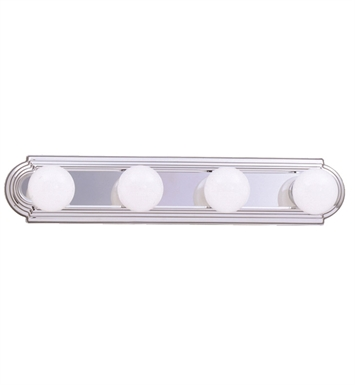 Kichler 5017CH 4-Bulb Bathroom Strip Light in Chrome