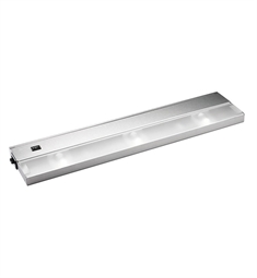 Kichler Modular 3 Light Xenon 120v-20w in Stainless Steel