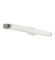 Kichler Nobu Collection Linear Bath 39 inch Fluorescent in Brushed Nickel