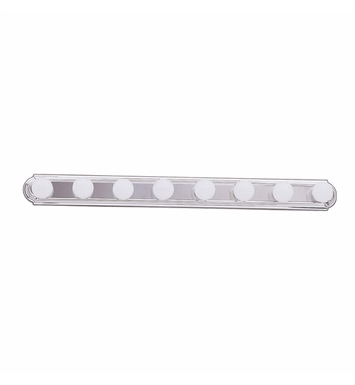 Kichler 5019NI 8-Bulb Bathroom Strip Light With Finish: Brushed Nickel