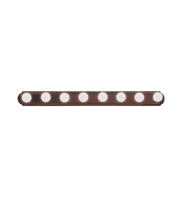 Kichler 5019TZ 8-Bulb Bathroom Strip Light in Tannery Bronze